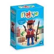 Flokys El Sheriff  Vaquero Cowboy Nene Tipo Playmobil @ Mca