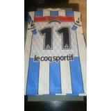 Camiseta Gimnasia De Jujuy. Mario Lobo. Usada En Juego.