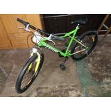 Bicicleta Mtb Futura R26 Suspensión Delantera Verde