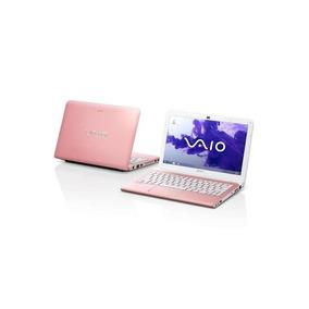 Notebook Sony Vaio I3 2.4ghz 4gb 320gb 14 Pol. - Rosa