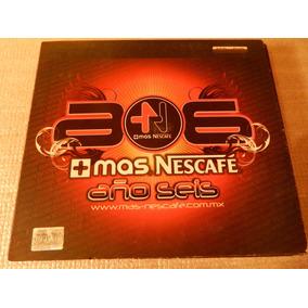 Mas Nescafe Año Seis, 2 Cds + 1 Dvd, Electronica, Como Nuevo