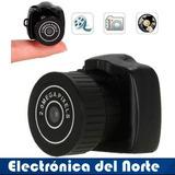 Mini Camara Espia Seguridad Con Ranura Micro Sd