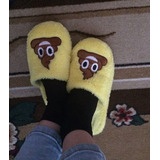 Pantuflas De Peluche Emoji Emoticon Caca Pou Poo Popo