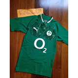 Camisa Irlanda Irfu Irish Rugby Puma O2 Sample Ireland