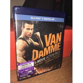 Blu Ray Van Damme 5 Movie Action Pack Imp D Usa+envio Gratis