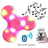 Spiner Con Luces Led Bluetooth Musica - Bateria Recargable