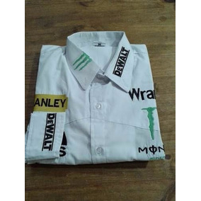 Camisa Rodeio Monster Stanley Dwalt Wrangler Branca