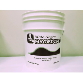 Cubeta De 20 Kg De Pasta De Mole Oaxaqueño