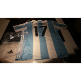 Por Encargue Camiseta Argentina Otamendi O Personalizable