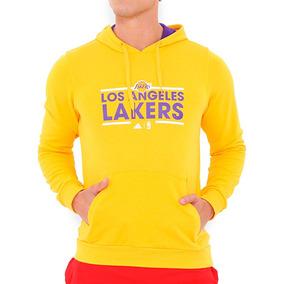 Sudadera Basquetbol Los Angeles Lakers Hombre adidas B45424
