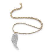 Collar Para Mujer Guess Fly With Me Color Dorado