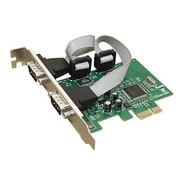 Placa Pci Express 2 Serial Noga Kw 239  Db9 Pc Fiscal