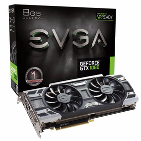 Placa De Video Pci-e Nvidia Gtx 1080 8gb Gddr5 256b Evga