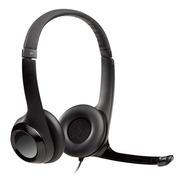 Auricular Vincha Logitech H390 Micrófono Usb Skype Miniplug