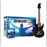 Guitar Hero Live Ps4. Guitarra + Juego Fisico En Caja Cerrad