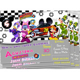 Invitacion Minnie Aventuras Sobre Ruedas Invitacion Digital