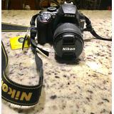 Cámara Réflex Nikon D34000 Con Lente Af-p Dx Nikkor 18/55 Mm