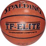 Pelota Basquet Spalding Tf Elite Oficial Liga Basket -olivos