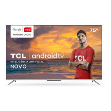 Smart Tv Tcl Led Ultra Hd 4k 75  Android Tv - 75p715