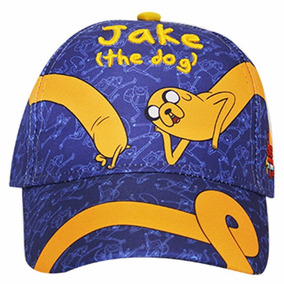 Adventure Time Gorra Original Jake Azul Hora Aventura Cn Atm