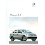 Pôster / Prospecto De Lançamento: Voyage 1.0 / Modelo 2010