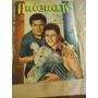 Revista Antena Tv Tapa Leo Dan Y Mariette, Nº 1851, Año 1966