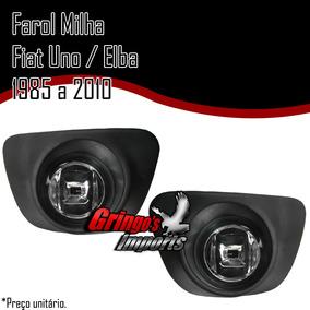 Farol Milha Uno Elba Fiorino Premio 85 À 2010 (m.redondo)