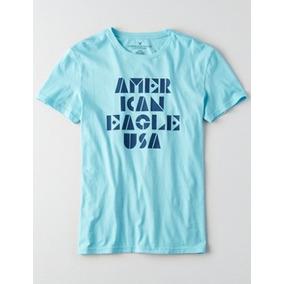 Camiseta American Eagle Ae Manga Curta Xxl Xxxl Masculina