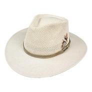 Sombrero Lagomarsino Australiano  Algodon Ventila Verano Sol
