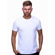 Camiseta Masculina Algodão - Básica Lisa