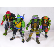 Tortugas Ninja Playmates Originales Totalmente Articuladas