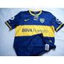 Camiseta Titular De Boca Juniors Tela De Juego