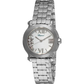Chopard Mujer Happy Sport Mini Diamante Blanco Reloj Dial