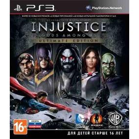 Injustice Gods Among Ultimate Dublado Ps3 Psn Envio Na Hora!