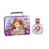 Perfume Disney Princesita Sofía 100ml En Valija Metal