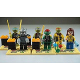 Tortugas Ninja Lego 6 Piezas