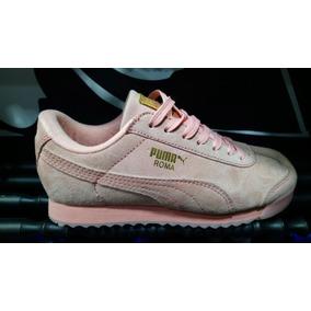 Zapatos negros Puma Roma para mujer 3R31stQAUY