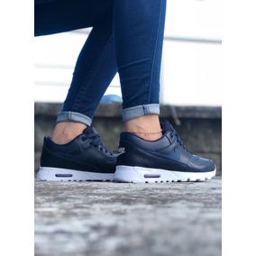 fa2361db34fee Zapatillas Copia - Tenis Nike para Mujer Azul oscuro en Mercado ...