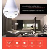 Camara De Seguridad Inalambrica Con Iluminacion Integrada