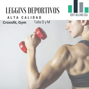 Leggins Deportivos Alta Calidad Europeos Gym Cross Fit