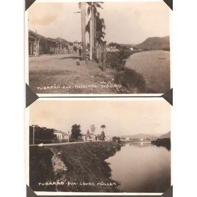 2 Cartões Postais Da Cidade De Tubarão-sc, 1937.