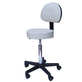 Cadeira Mocho Banqueta Consultório Clínica Estética Branco