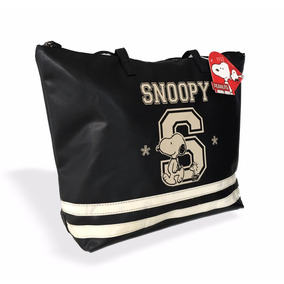 Bolsa Sacola Snoop Original Couro Sintético Várias Cores
