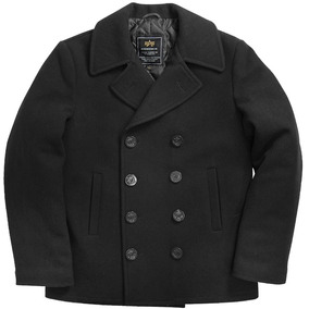 Saco Alpha Industries De Marinero Usn Pea Coat