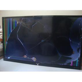 Tv Sharp Lc80le632u,.tela Quebrada,funcionando.