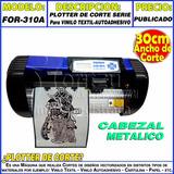 Plotter Corte Industrial 30cm Corel-moritzu For-300a Vinilo