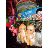 Muñecos De Goma Gemelos Época Frutillitas, Mi Pequeño Pony
