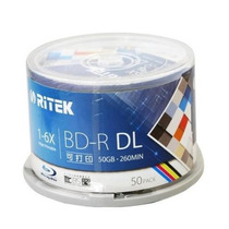Bluray Doble Capa(bd-r Dl) 50gb Ritek Imprimible 55 C/disco