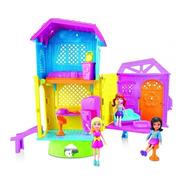 Polly Pocket Casa Club De Polly Super Casa Accesorios