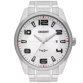 Relógio Orient Quartz Aço Masculino Mbss1297 Super Promoção